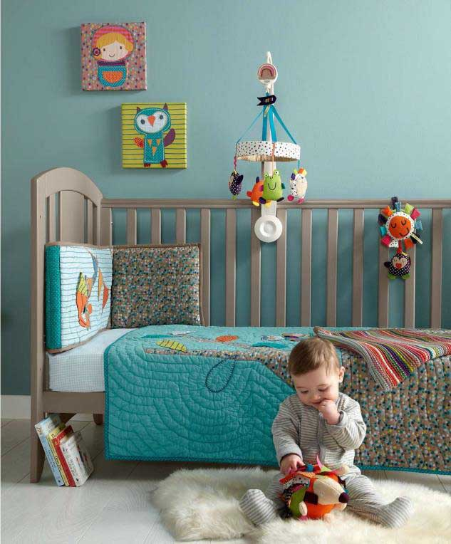 coverlet--teal